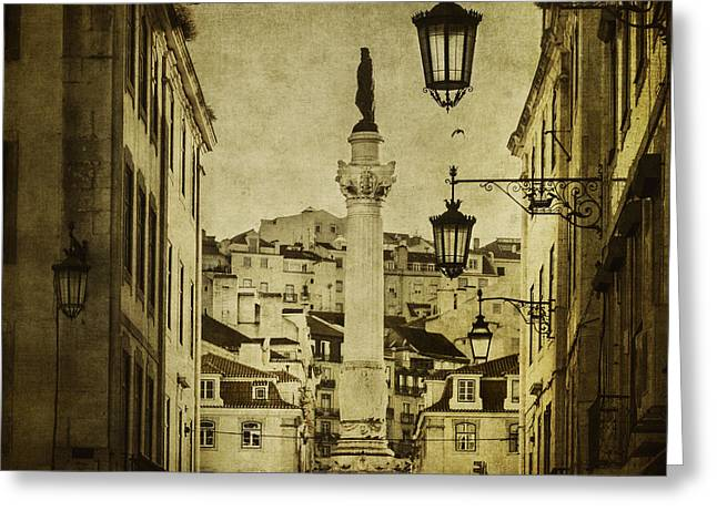 Lisbon Greeting Cards - Aristocrats Greeting Card by Andrew Paranavitana