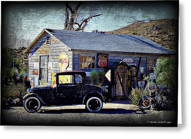Office Space Digital Art Greeting Cards - Arizona Memories Greeting Card by Taylor Steffen SCOTT