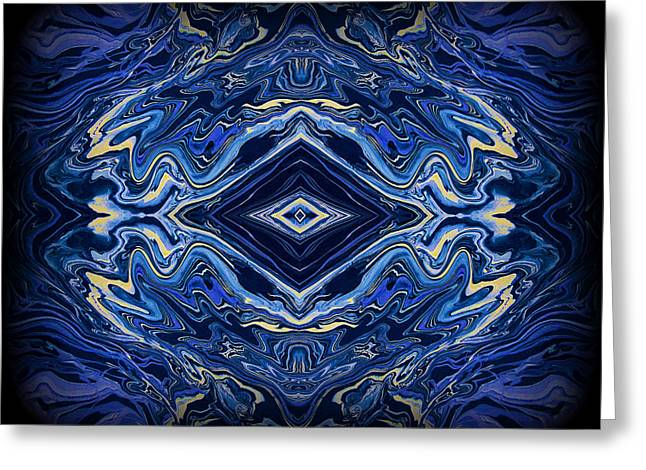 Reflective Greeting Cards - Art Series 3 Greeting Card by J D Owen