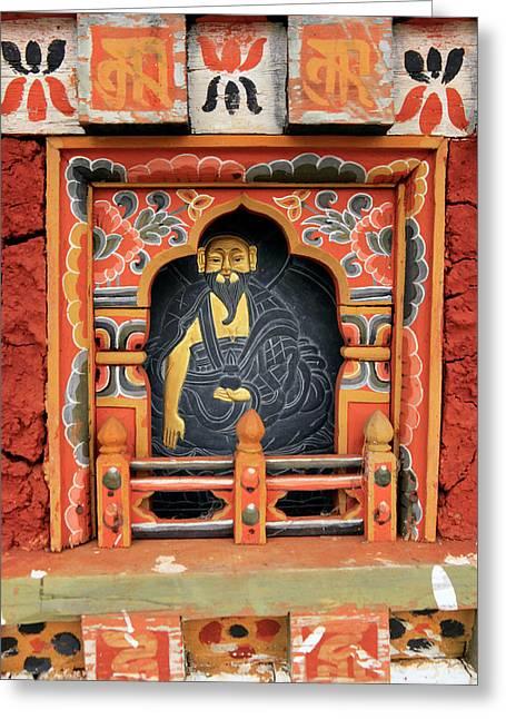 Asia, Bhutan, Thimphu Greeting Card by Kymri Wilt