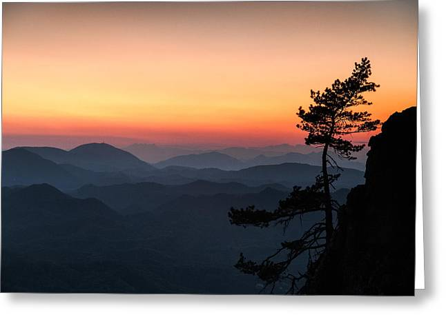 Davorin Mance Greeting Cards - At the end of the day Greeting Card by Davorin Mance