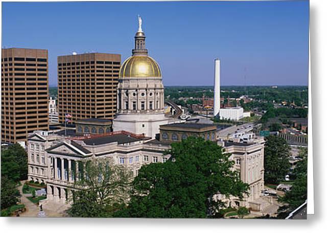 Ga Greeting Cards - Atlanta Ga Greeting Card by Panoramic Images