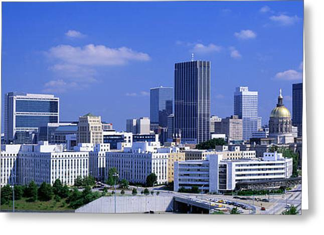 Roadway Greeting Cards - Atlanta, Georgia, Usa Greeting Card by Panoramic Images