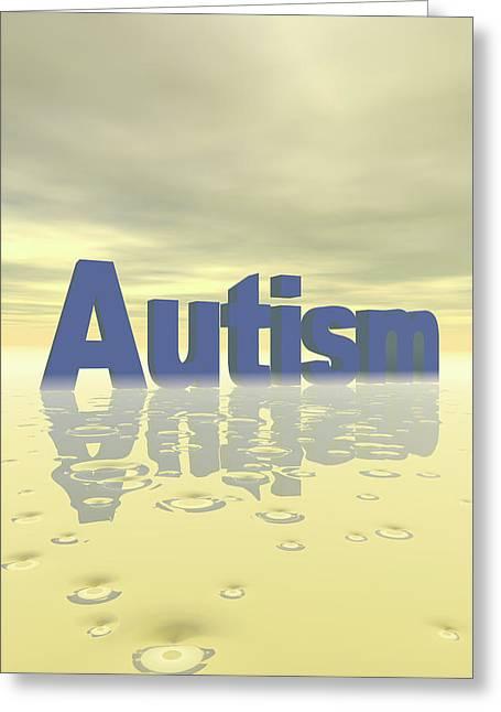 Autism Greeting Card by Carol & Mike Werner