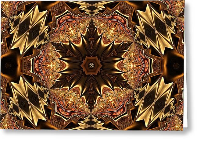 Youthful Digital Art Greeting Cards - Autumn Glamour Greeting Card by Georgiana Romanovna