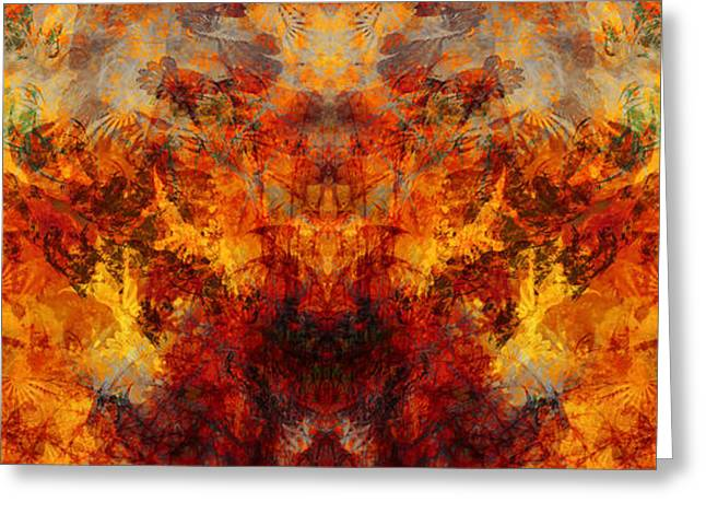 Autumn Glory Greeting Card by Christopher Gaston
