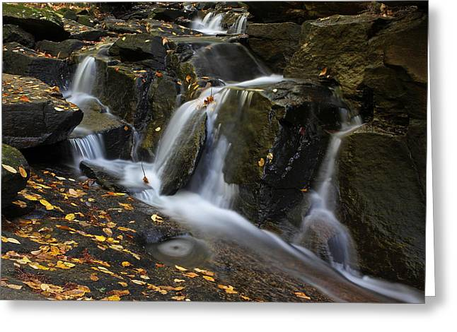 Beautiful Creek Greeting Cards - Autumn in New England Greeting Card by Juergen Roth