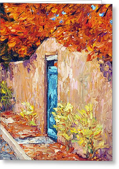 Steven Boone Greeting Cards - Autumn Morning Greeting Card by Steven Boone