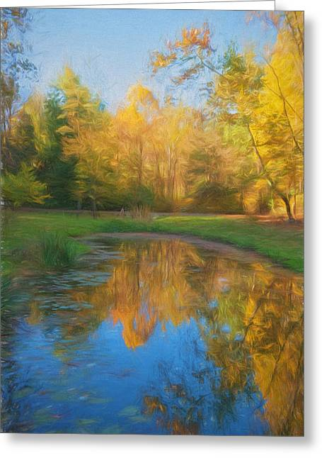Autumn Splendor Greeting Card by Kim Hojnacki