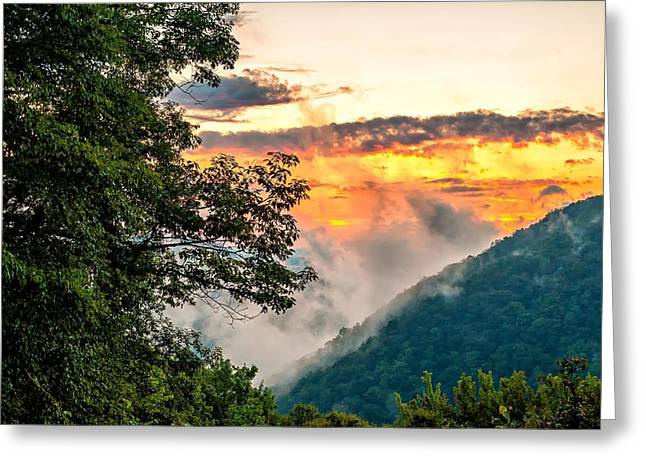 Babcock Greeting Cards - Babcock State Park WV Greeting Card by Steve Harrington