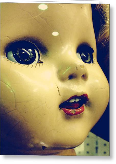 Baby Doll Greeting Cards - Baby Doll Greeting Card by Jerry Cordeiro
