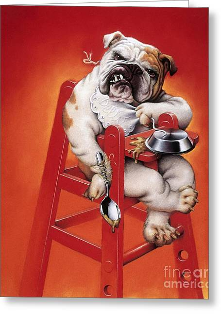 Petcare Greeting Cards - Baby Substitute, Conceptual Image Greeting Card by Smetek