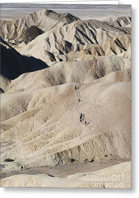 Landforms Greeting Cards - Badlands Greeting Card by Juli Scalzi