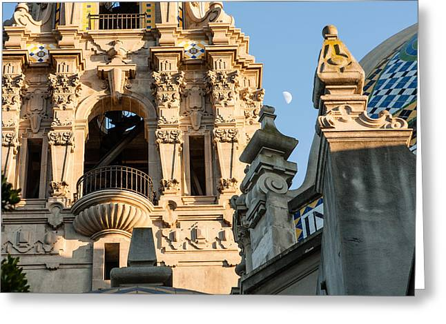 San Diego Greeting Cards - Balboa Park Architecture Series Greeting Card by Josh Whalen