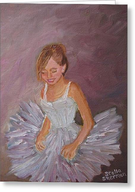 Stella Sherman Greeting Cards - Ballerina 2 Greeting Card by Stella Sherman