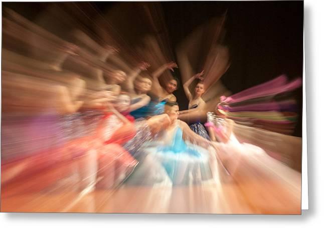 Ballet Greeting Card by Okan YILMAZ