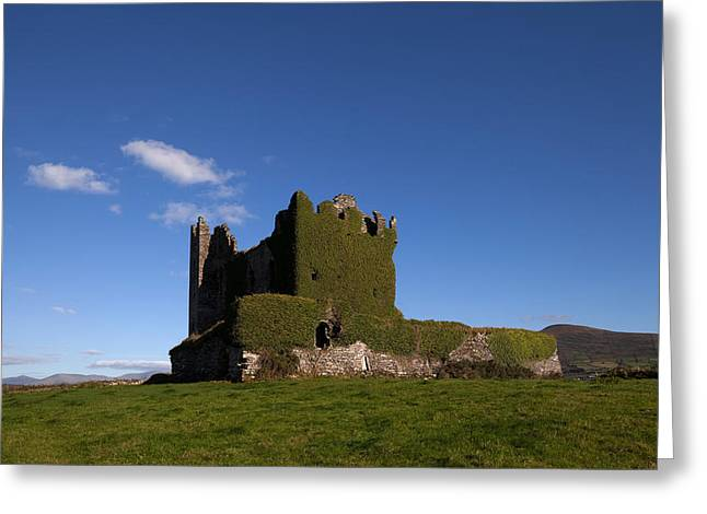 Middle Ages Greeting Cards - Ballycarberry Castle, Built Circa 16th Greeting Card by Panoramic Images