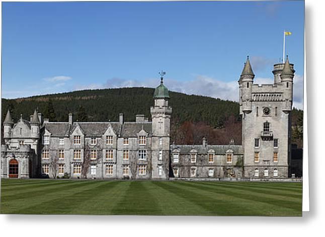 Balmoral Greeting Cards - Balmoral Castle Greeting Card by Maria Gaellman