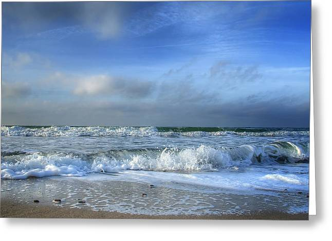 Himmel Greeting Cards - Baltic Sea Greeting Card by Steffen Gierok