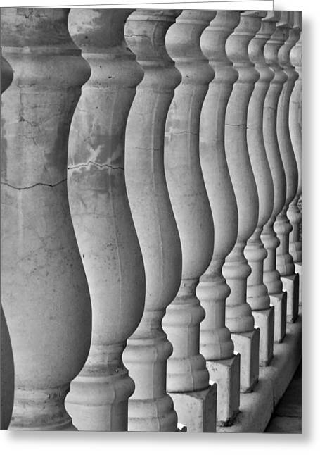 Balusters Greeting Cards - Balusters  Greeting Card by Mountain Dreams