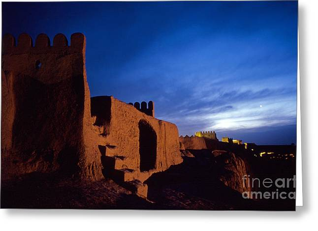 Bam Greeting Cards - Bam Fortress Greeting Card by Babak Tafreshi