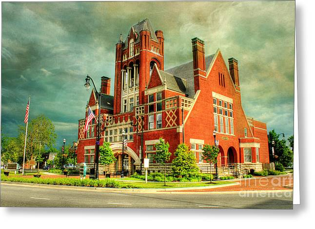 Vacation Digital Art Greeting Cards - Bardstown Kentucky Greeting Card by Darren Fisher