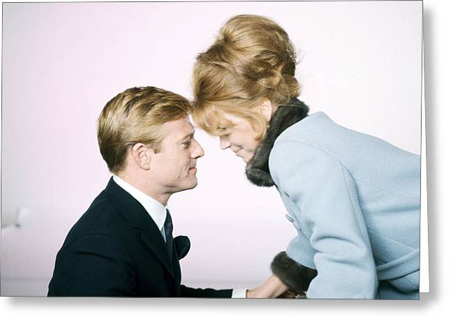 Barefoot Greeting Cards - Barefoot in the Park  Greeting Card by Silver Screen