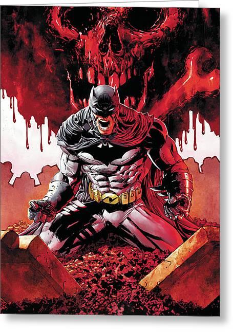 Batman Greeting Cards - Batman Greeting Card by FHT Designs