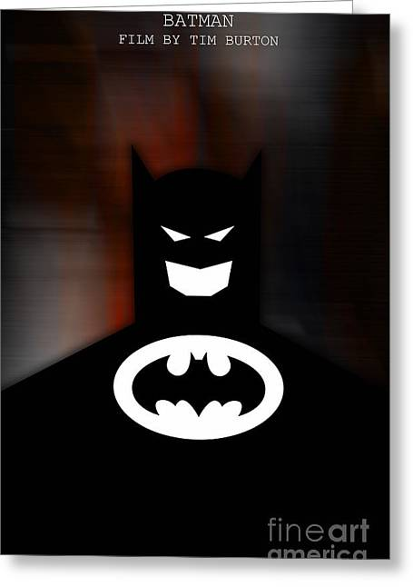 Dinning Room Greeting Cards - Batman Greeting Card by Marvin Blaine