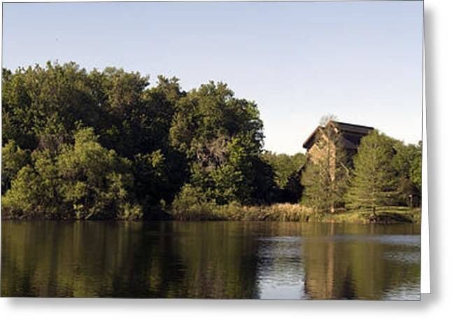 The Nature Center Greeting Cards - Baughman Center Greeting Card by William Ragan