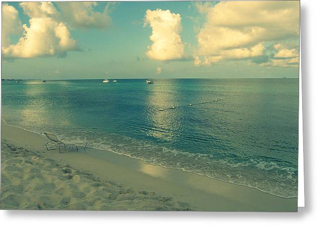 Beautiful Scenery Digital Art Greeting Cards - Beach Day Greeting Card by Patricia Awapara