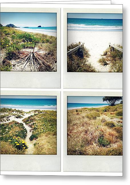 Beach Photos Greeting Cards - Beach memories Greeting Card by Les Cunliffe