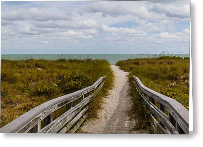 Bill Baggs Greeting Cards - Beach Path Greeting Card by Stefan Mazzola