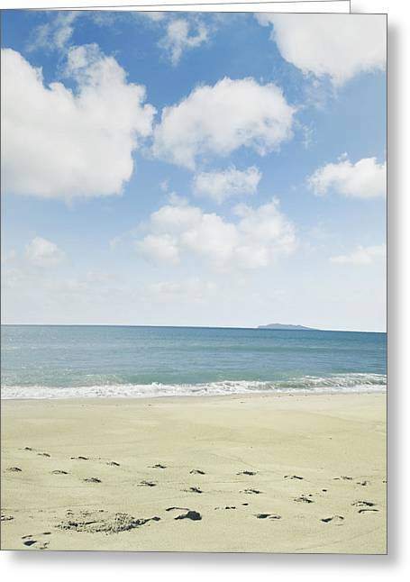 Beach Photograph Greeting Cards - Beach prints Greeting Card by Les Cunliffe