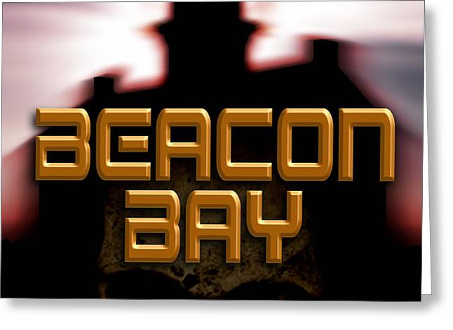 Beacon Bay Greeting Card by Mike Nellums