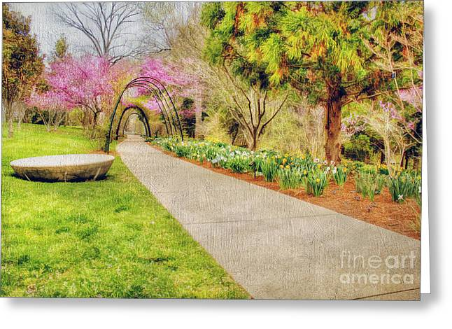 Beautiful Scenery Greeting Cards - Beautiful Spring Greeting Card by Darren Fisher