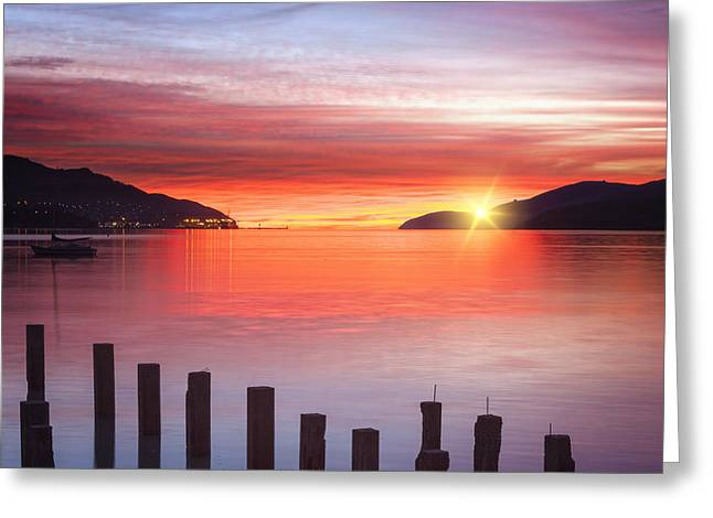 Sunrise Greeting Cards - Beautiful Sunrise Greeting Card by Colin and Linda McKie