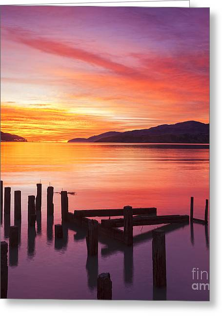 Governor Greeting Cards - Beautiful Sunset Greeting Card by Colin and Linda McKie