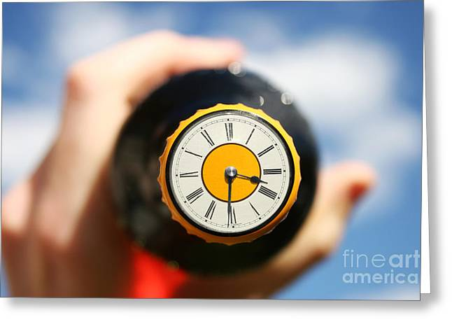 Beer Oclock Greeting Card by Jorgo Photography - Wall Art Gallery