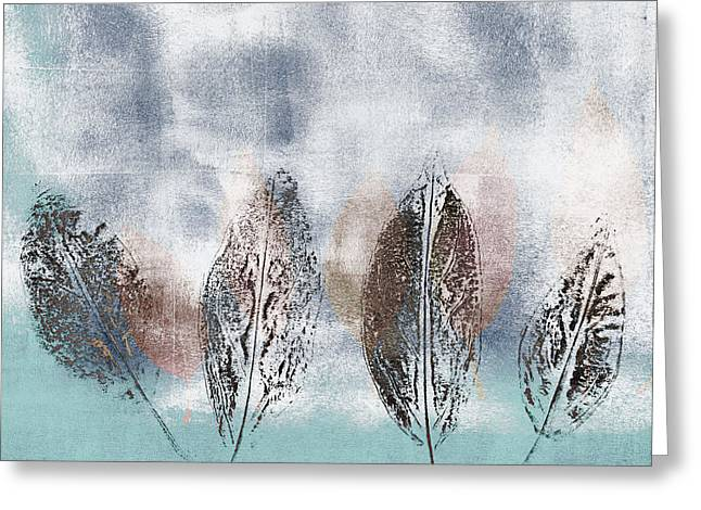 Transitions Greeting Cards - Beginning of Winter Greeting Card by Carol Leigh
