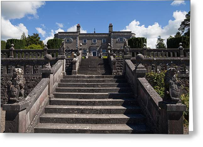 Lough Greeting Cards - Belvedere House, Mulligar, County Greeting Card by Panoramic Images