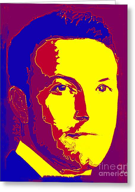 Ben Affleck Greeting Card by Dalon Ryan