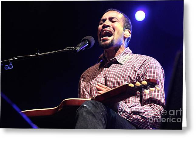 Ben Harper Greeting Cards - Ben Harper Greeting Card by Front Row  Photographs