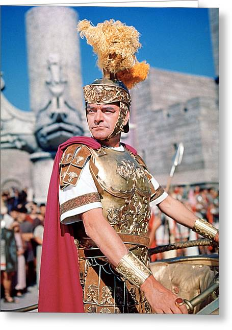 Hawkins Greeting Cards - Ben-Hur  Greeting Card by Silver Screen