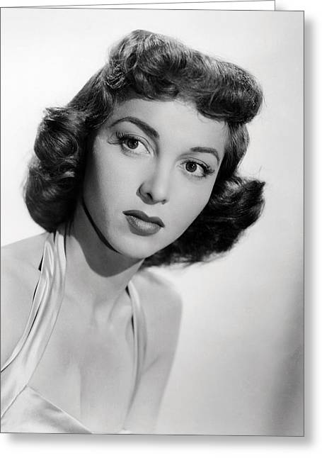 Beverly Greeting Cards - Beverly Garland Greeting Card by Silver Screen