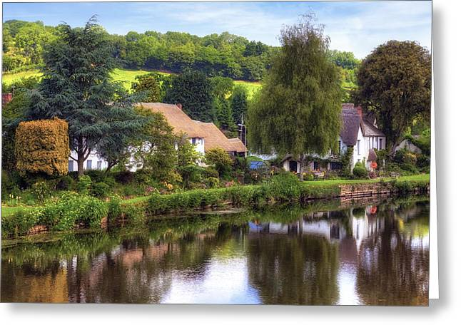 Thatch Greeting Cards - Bickleigh - Devon Greeting Card by Joana Kruse
