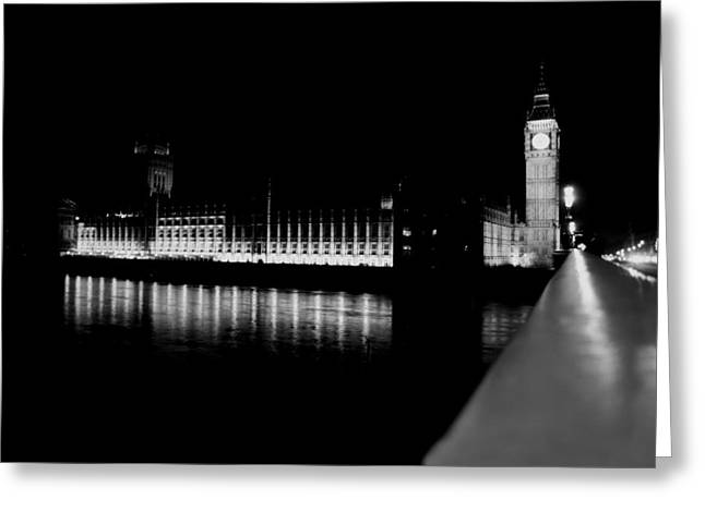 Owner Digital Greeting Cards - Big Ben And The Houses Of Parliament Greeting Card by Michael Braham
