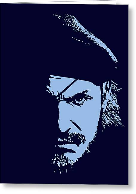 Psp Greeting Cards - Big Boss Greeting Card by Danilo Caro