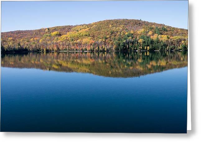 Kite Greeting Cards - Big Cedar Lake. Quebec Greeting Card by Rob Huntley
