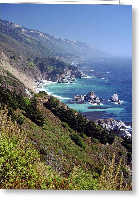 Pch Greeting Cards - Big Sur 4 Greeting Card by Rod Jones
